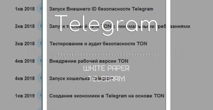 White Paper telegram