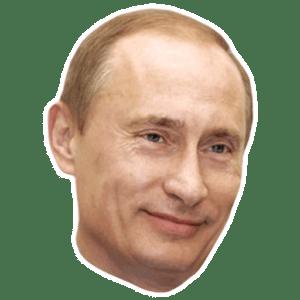стикеры Путин для Телеграм