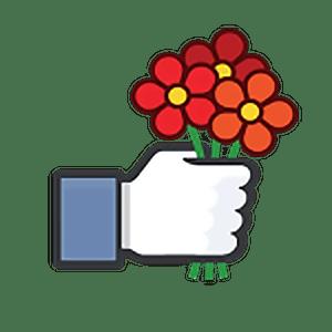 стикеры Facebook Likes для Телеграм