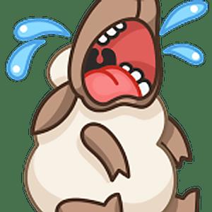 Когда хочется поделится хорошим настроением незаменим стикер хорошенького барашка Флинн,он и рассмешит, и позабавит! Устанавливайте стикеры с барашком Флинн для Телеграм.