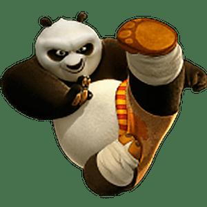 стикеры Кунг-Фу Панда скачать
