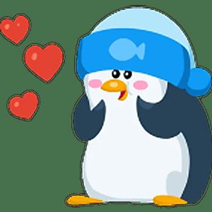 Стикеры Пингвин