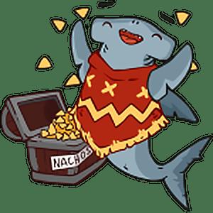 стикеры для Telegram рыба-молот Диего