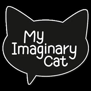 Мой воображаемый кот стикеры