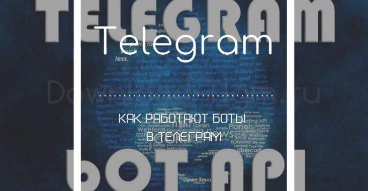 Как работают боты в телеграм