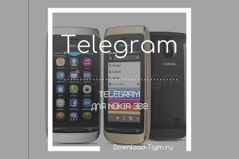 telegram для nokia 308