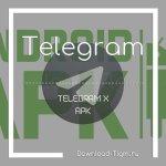 Скачать apk-файл Telegram X