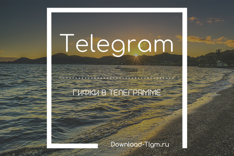 Гифки в Телеграмме